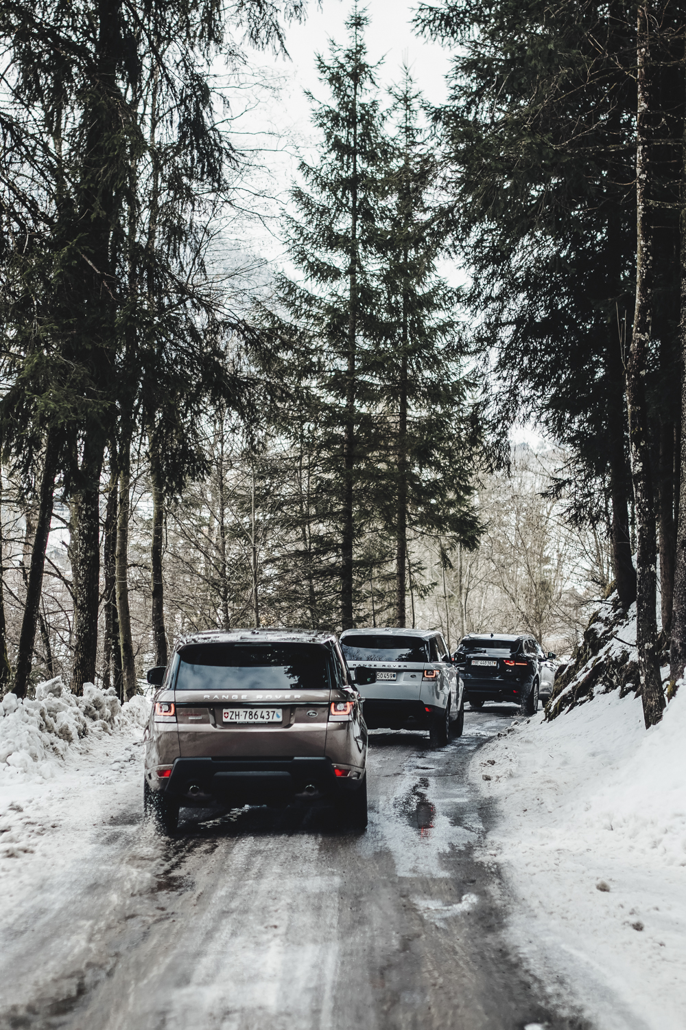 Die Jaguar Land Rover Ice Driving Experience in Gstaad 11