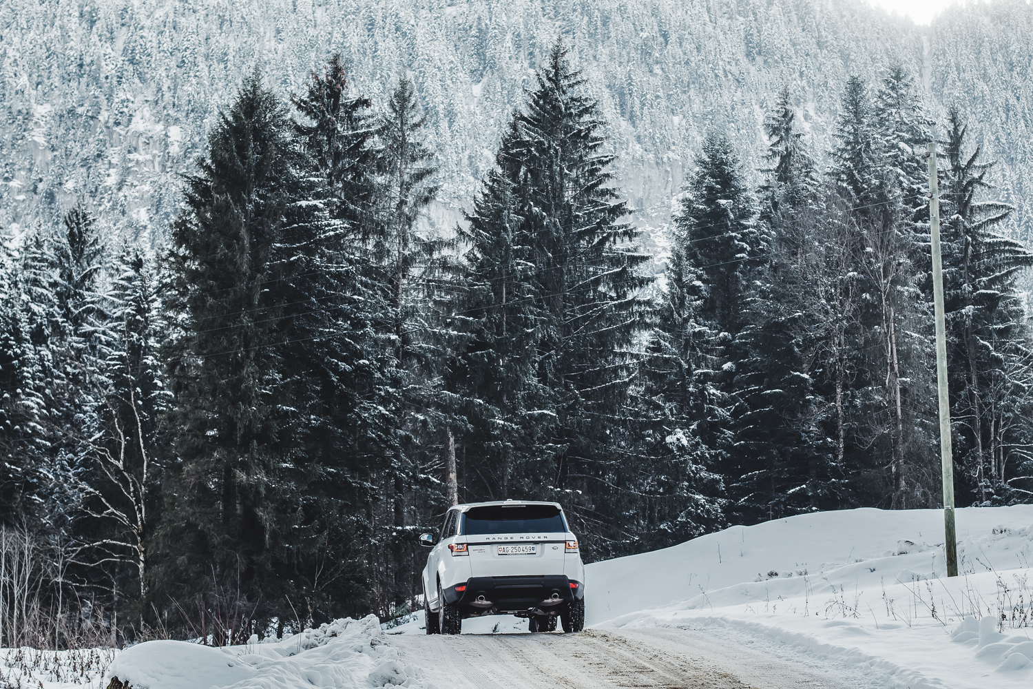 Die Jaguar Land Rover Ice Driving Experience in Gstaad 9