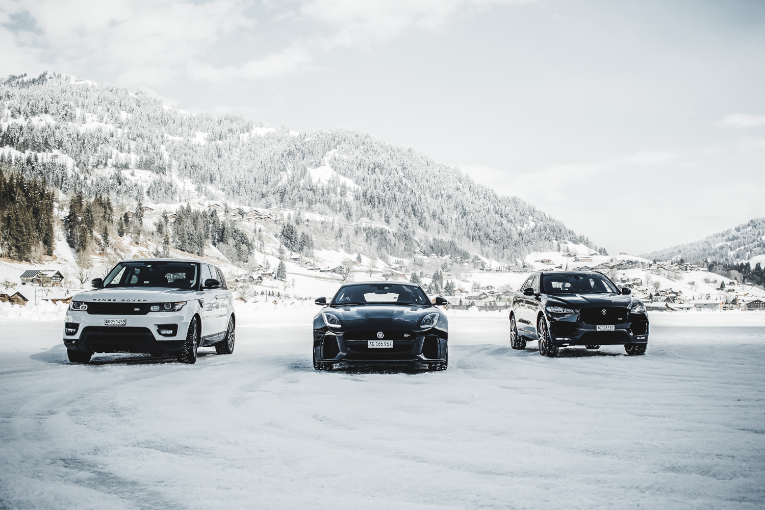 Die Jaguar Land Rover Ice Driving Experience in Gstaad 5