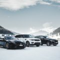 Die Jaguar Land Rover Ice Driving Experience in Gstaad