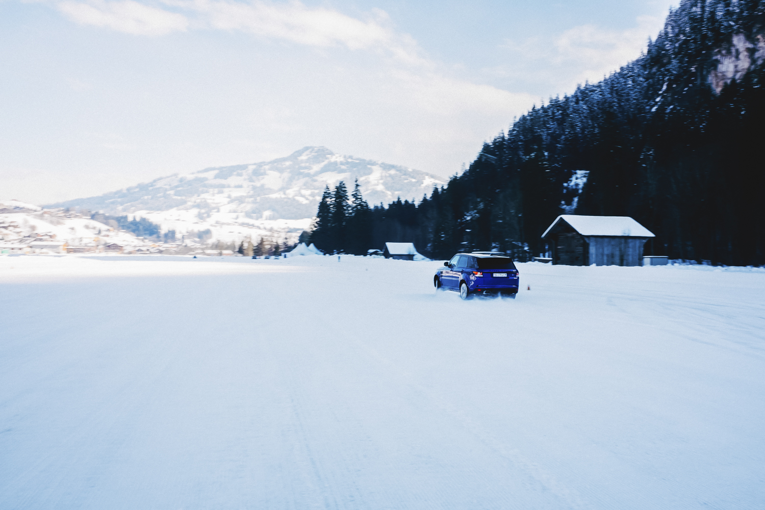 Die Jaguar Land Rover Ice Driving Experience in Gstaad 27
