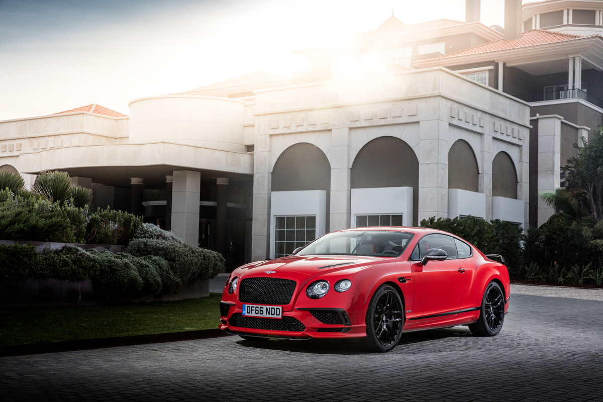 Launching The New Bentley Continental Supersports 5