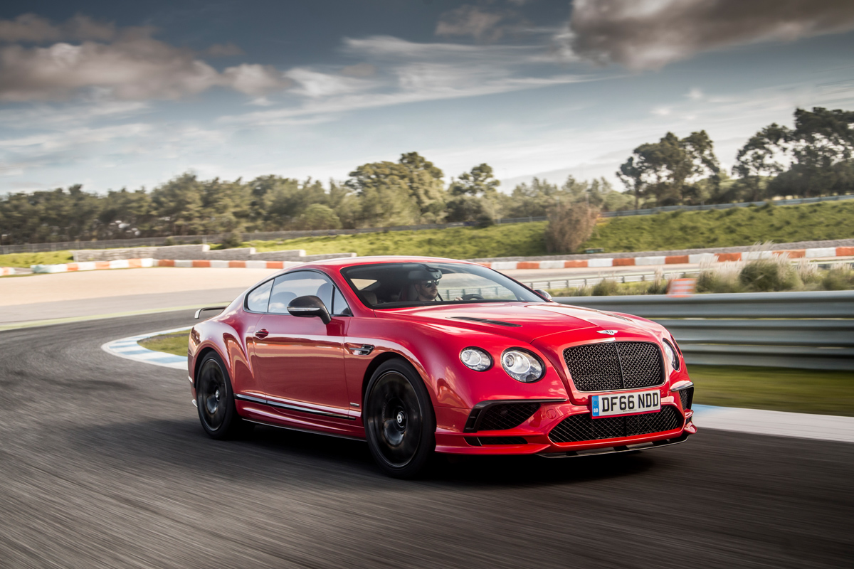 Launching The New Bentley Continental Supersports 1