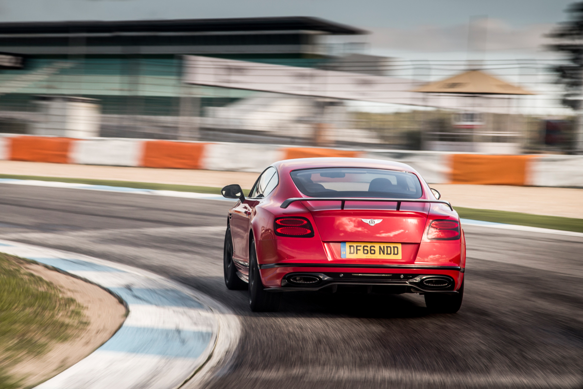 Launching The New Bentley Continental Supersports 14