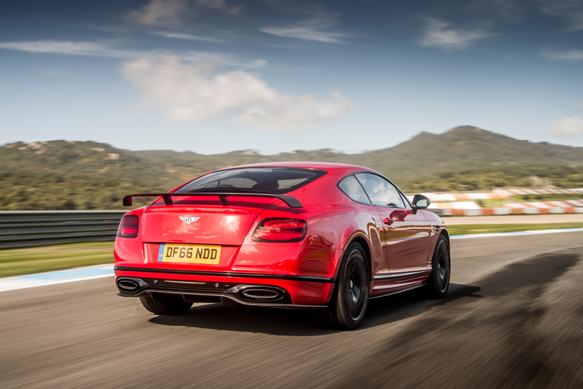 Launching The New Bentley Continental Supersports 2