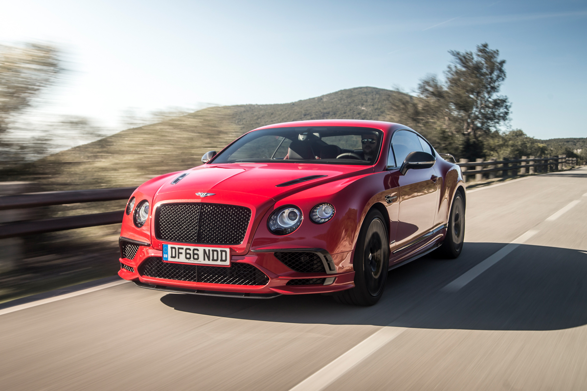 Launching The New Bentley Continental Supersports Mr