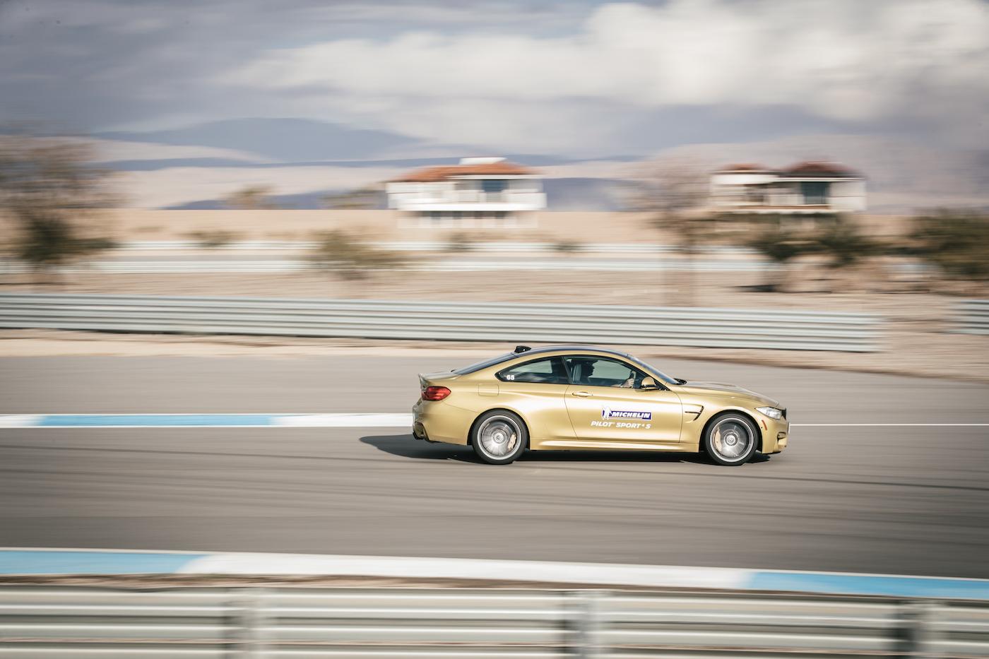 Qualmende Reifen in der kalifornischen Wüste: <br>Der Michelin Pilot Sport 4 S 13
