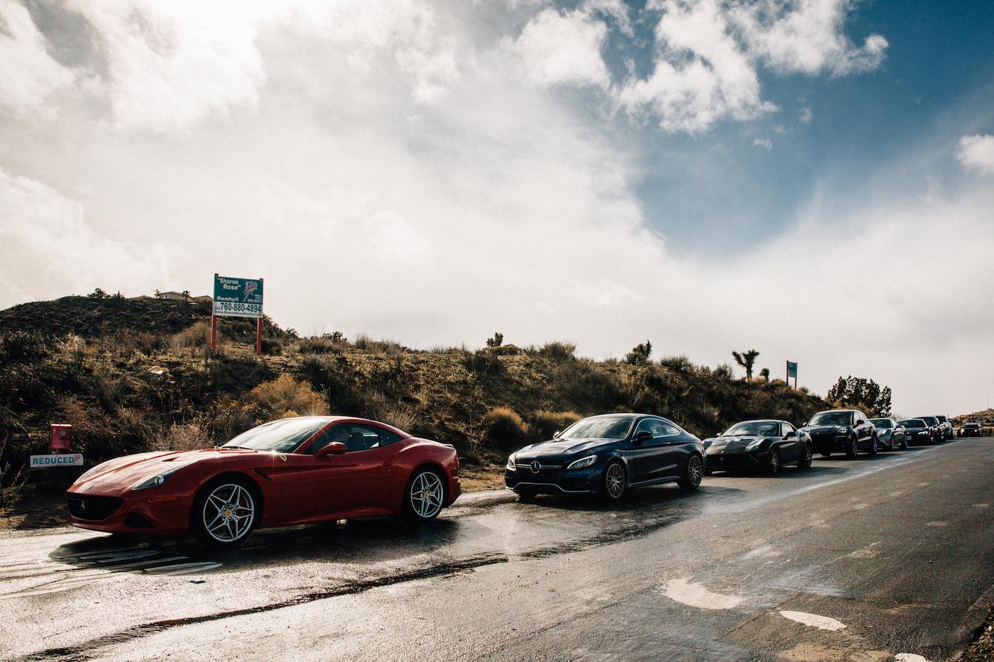 Qualmende Reifen in der kalifornischen Wüste: <br>Der Michelin Pilot Sport 4 S 2