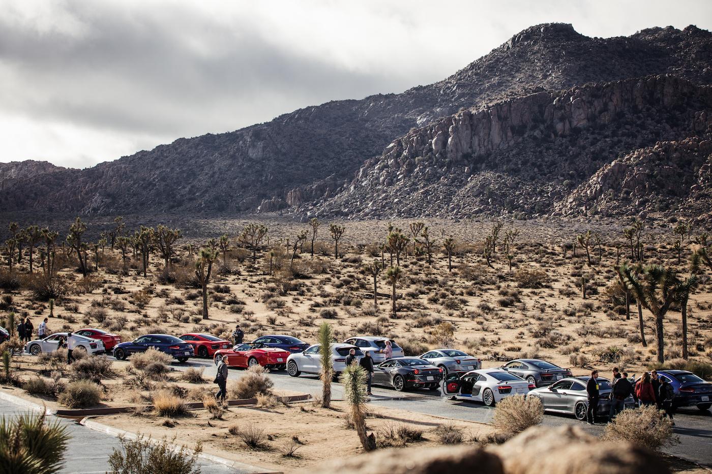 Qualmende Reifen in der kalifornischen Wüste: <br>Der Michelin Pilot Sport 4 S 1