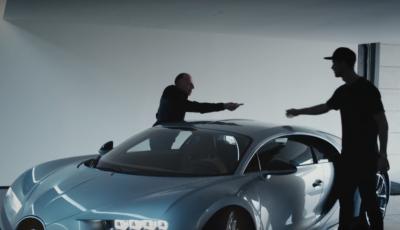 Cristiano Ronaldo testet neuen Bugatti Chiron mit 1500PS