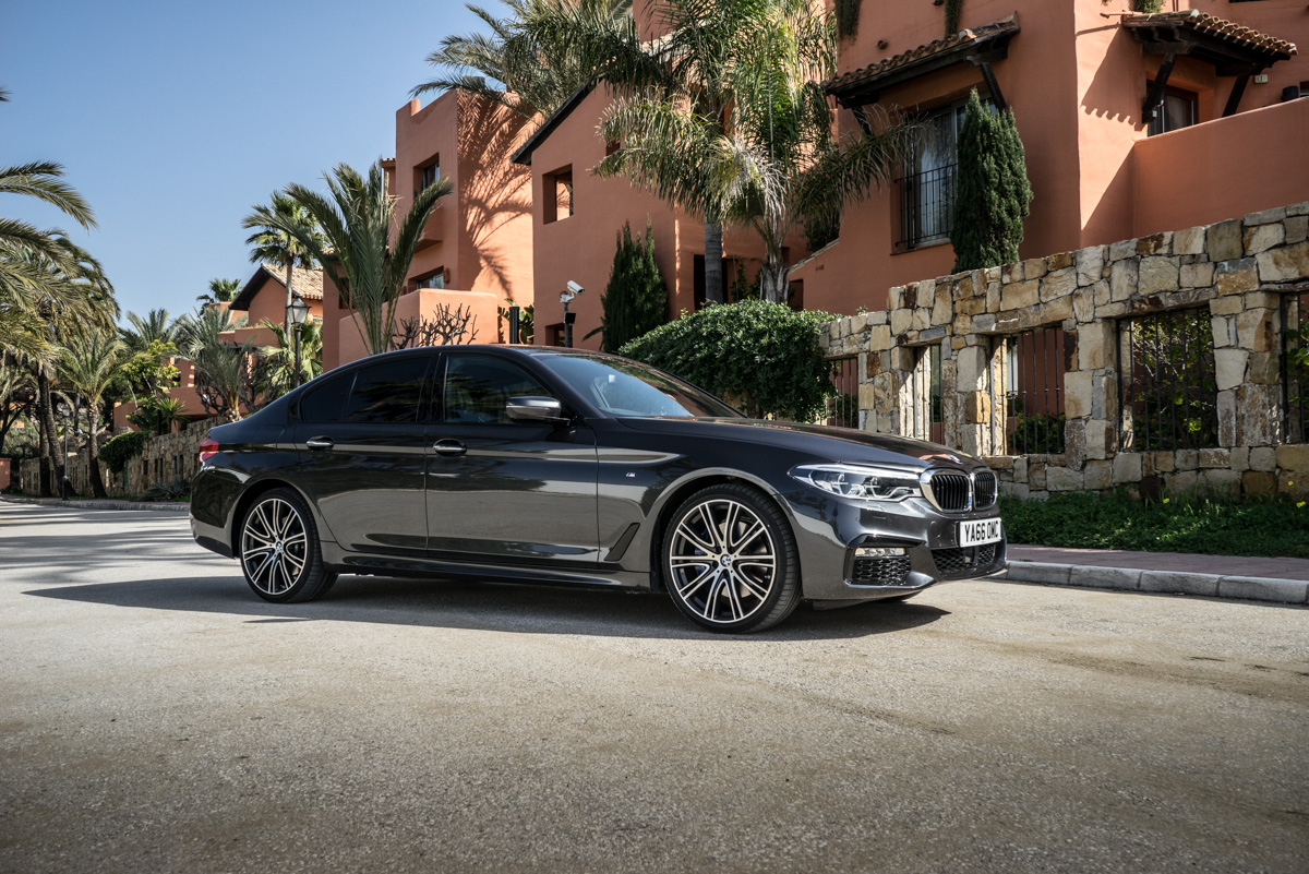 Gibraltar To London In The New BMW 5 Series 20