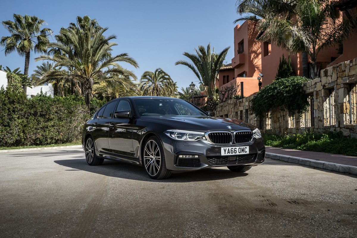 Gibraltar To London In The New BMW 5 Series 2