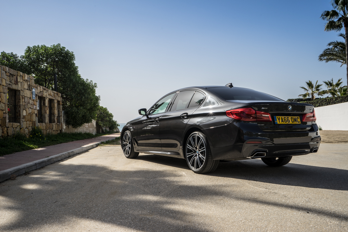 Gibraltar To London In The New BMW 5 Series 18