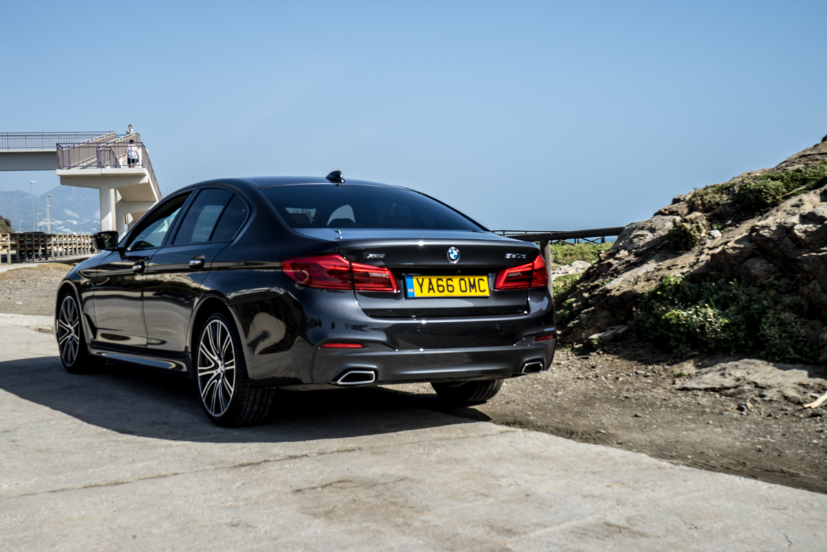Gibraltar To London In The New BMW 5 Series 15