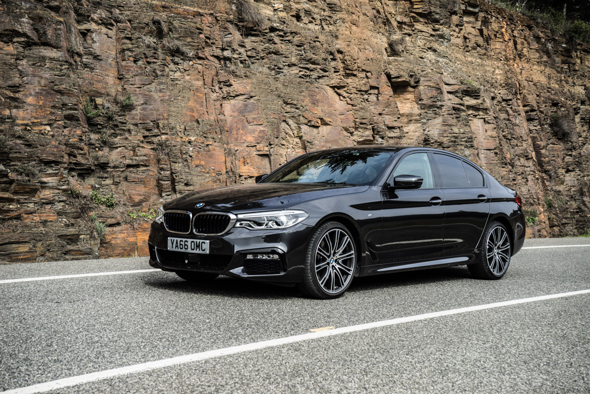Gibraltar To London In The New BMW 5 Series 14