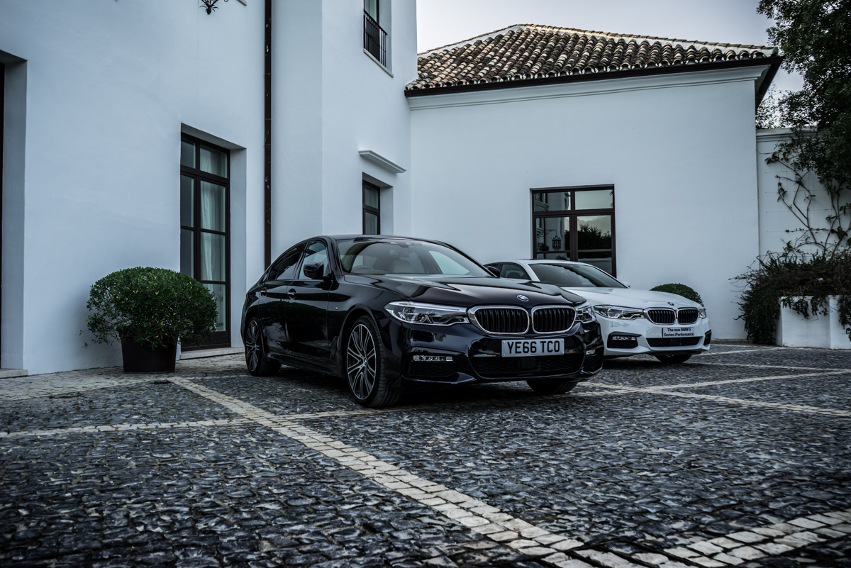 Gibraltar To London In The New BMW 5 Series 25