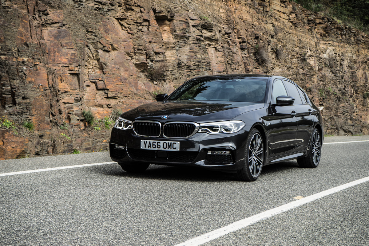 Gibraltar To London In The New BMW 5 Series 13