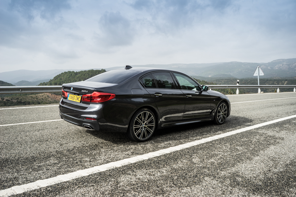 Gibraltar To London In The New BMW 5 Series 12