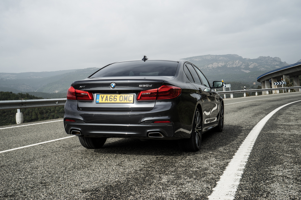 Gibraltar To London In The New BMW 5 Series 11