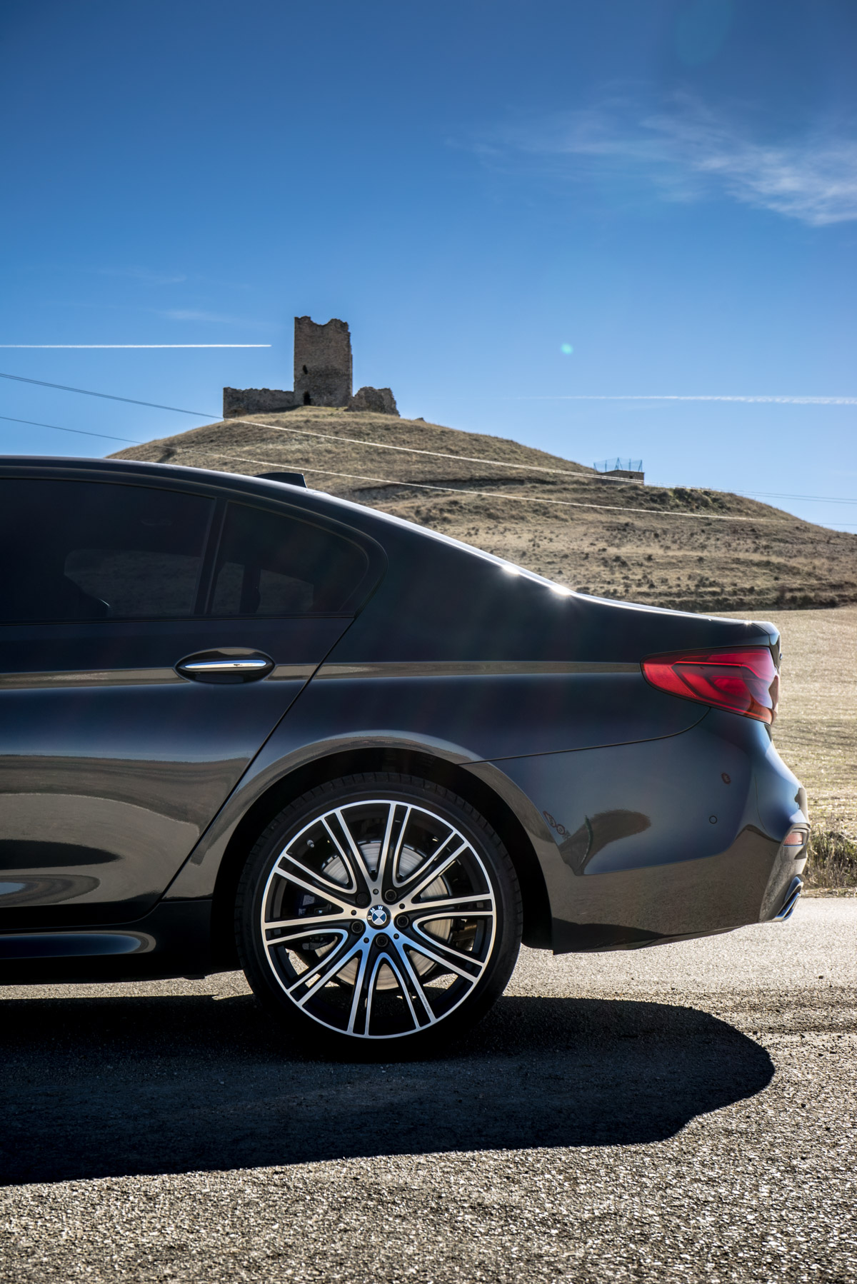 Gibraltar To London In The New BMW 5 Series 8