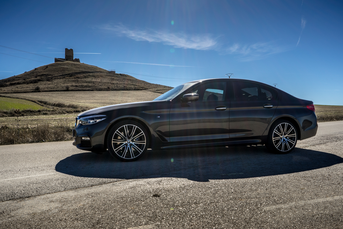 Gibraltar To London In The New BMW 5 Series 10