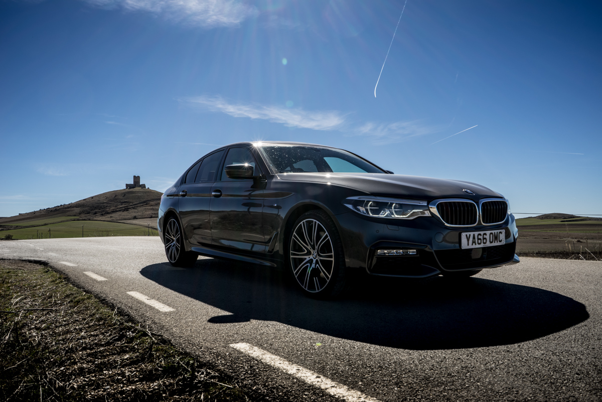 Gibraltar To London In The New BMW 5 Series 7