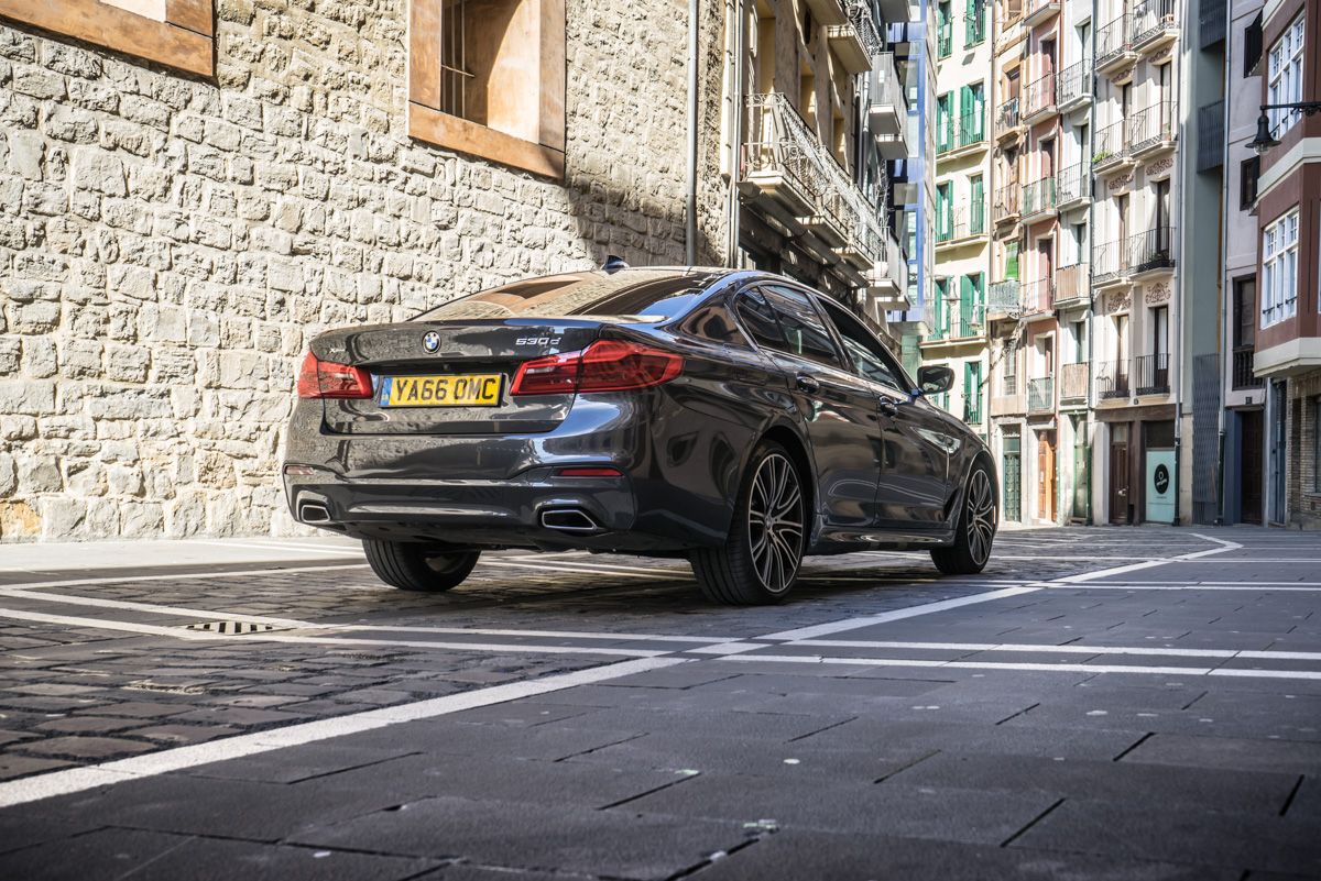 Gibraltar To London In The New BMW 5 Series 5