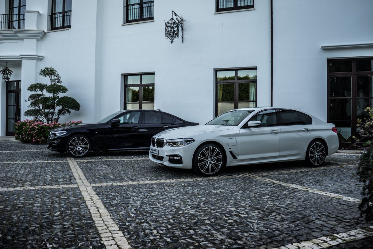 Gibraltar To London In The New BMW 5 Series 24