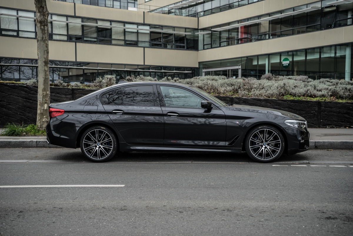 Gibraltar To London In The New BMW 5 Series 4