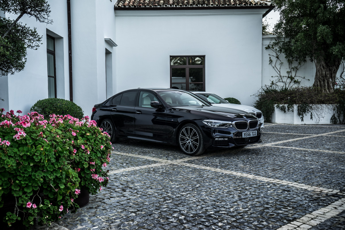 Gibraltar To London In The New BMW 5 Series 1
