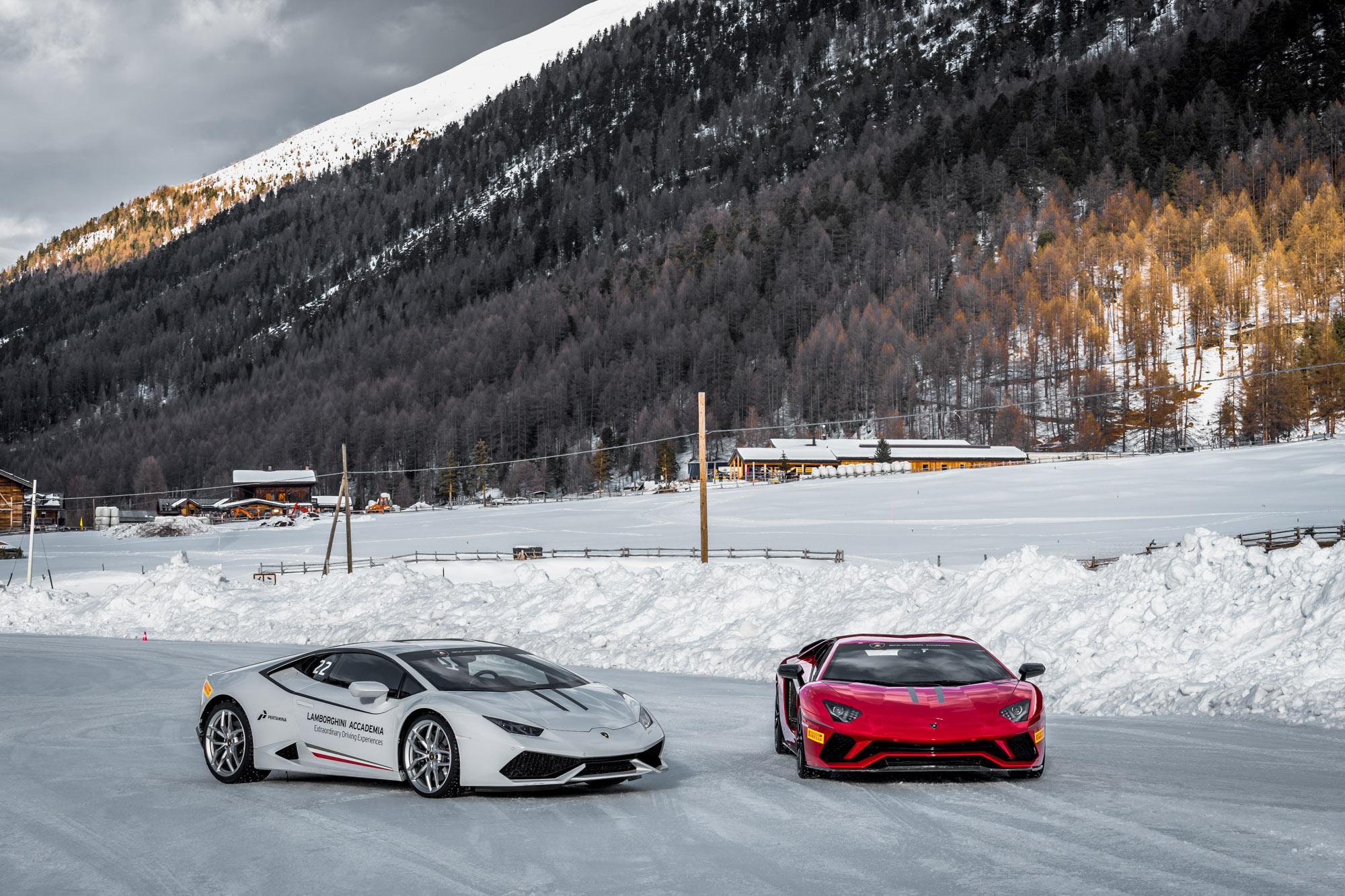 Lamborghini Winter Accademia 01