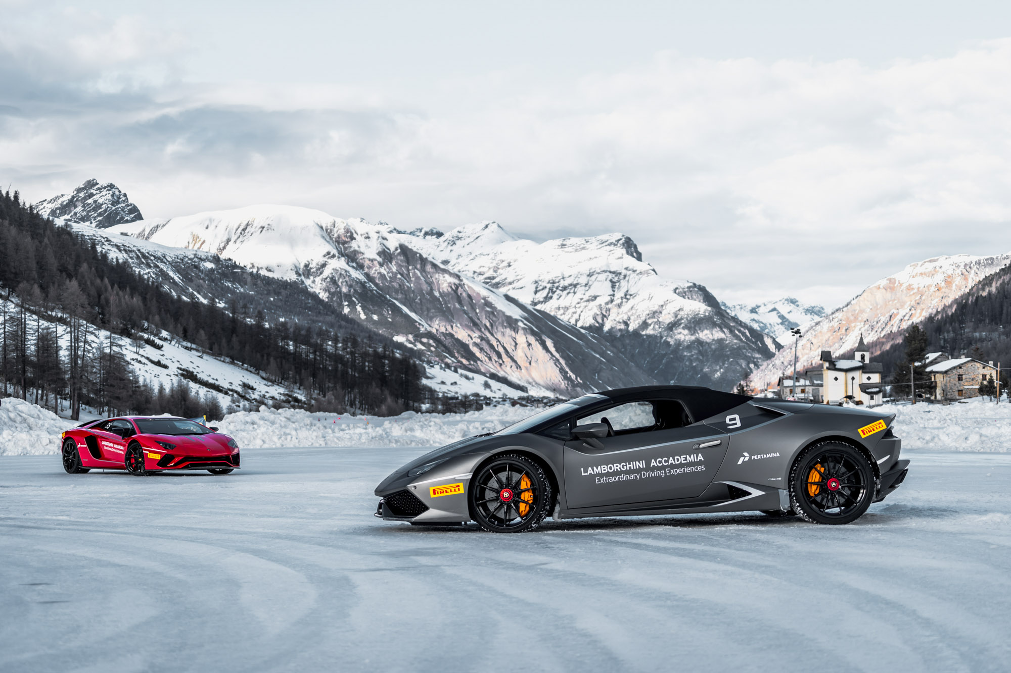 Lamborghini Winter Accademia 10