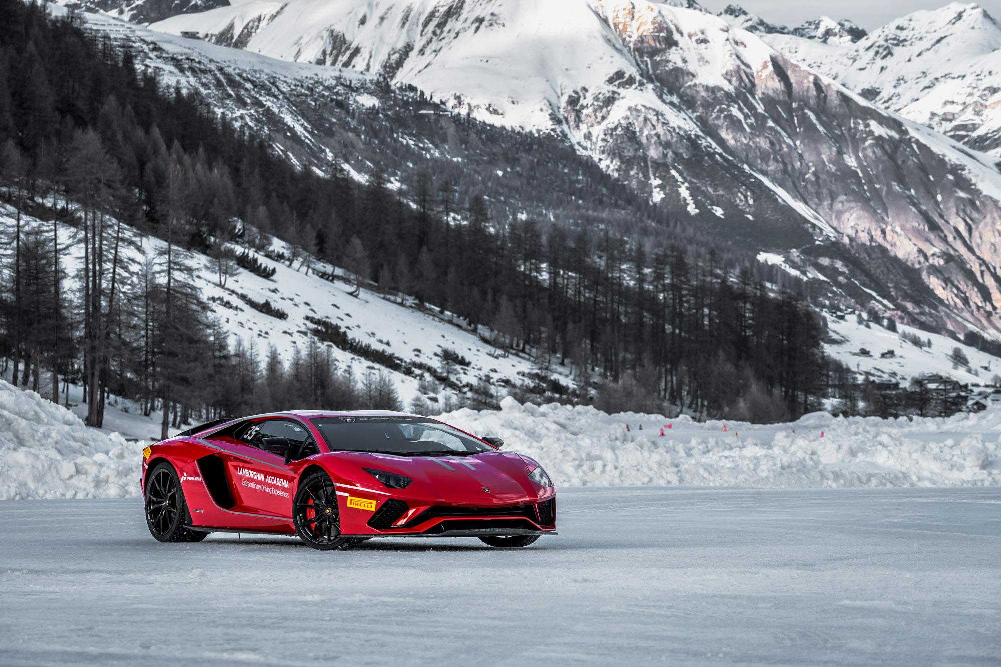 Lamborghini Winter Accademia featured