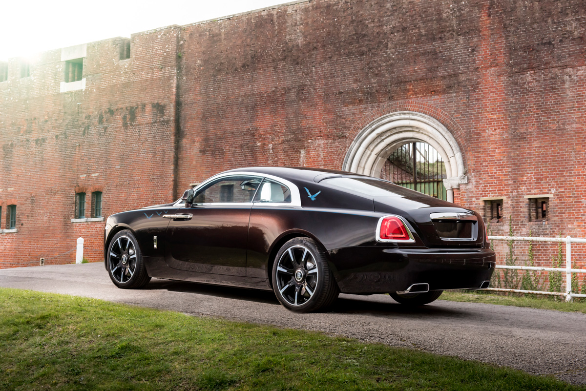 Rolls-Royce X British Music Legends for Bespoke Wraith Series 9