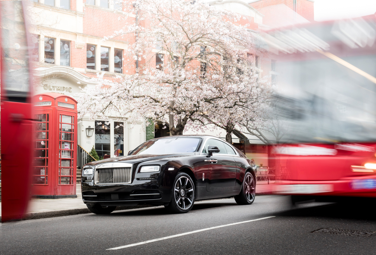 Rolls-Royce X British Music Legends for Bespoke Wraith Series 10