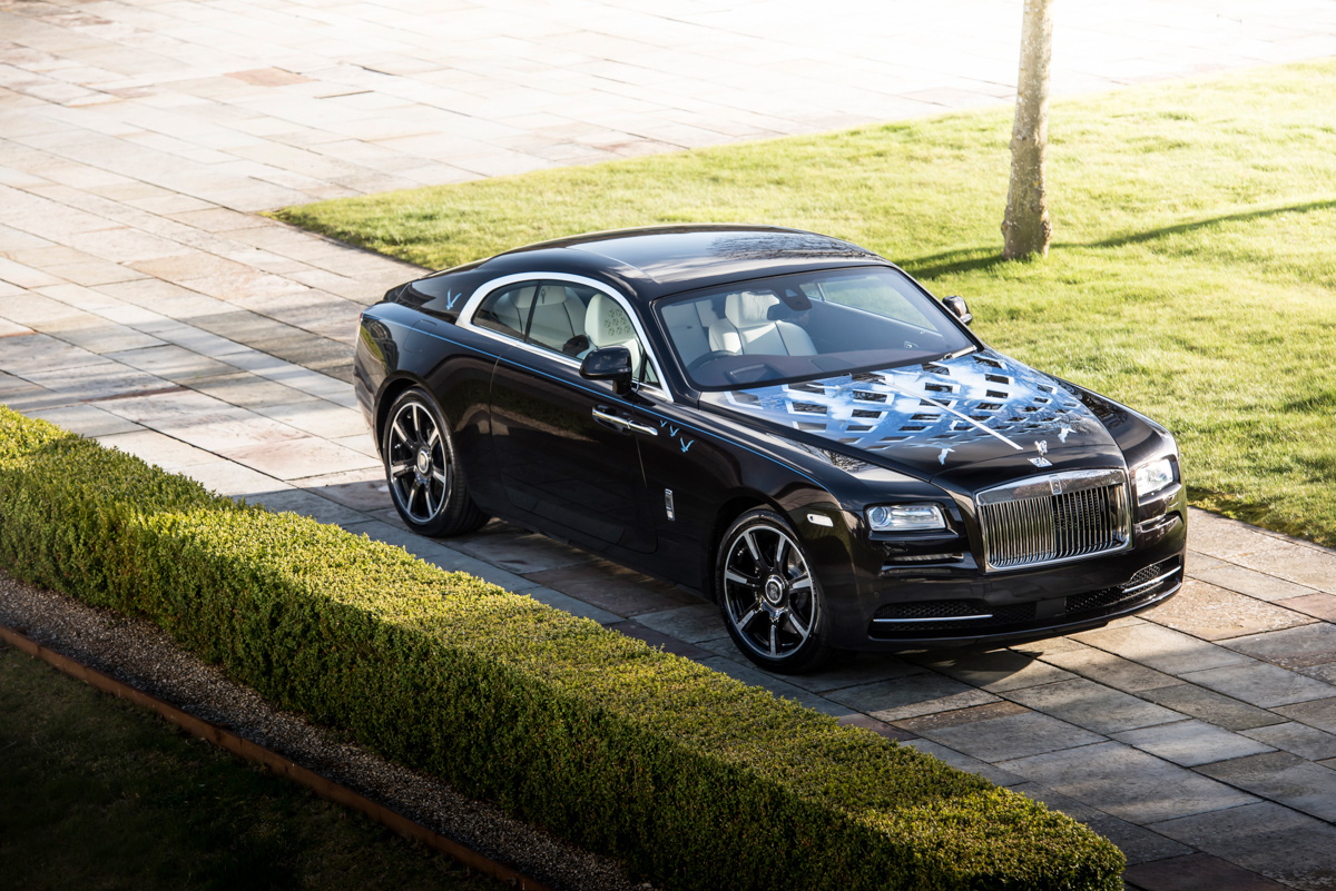 Rolls-Royce X British Music Legends for Bespoke Wraith Series 13