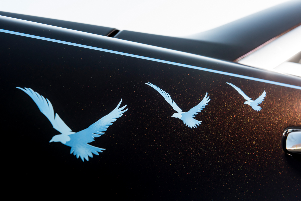 Rolls-Royce X British Music Legends for Bespoke Wraith Series 15