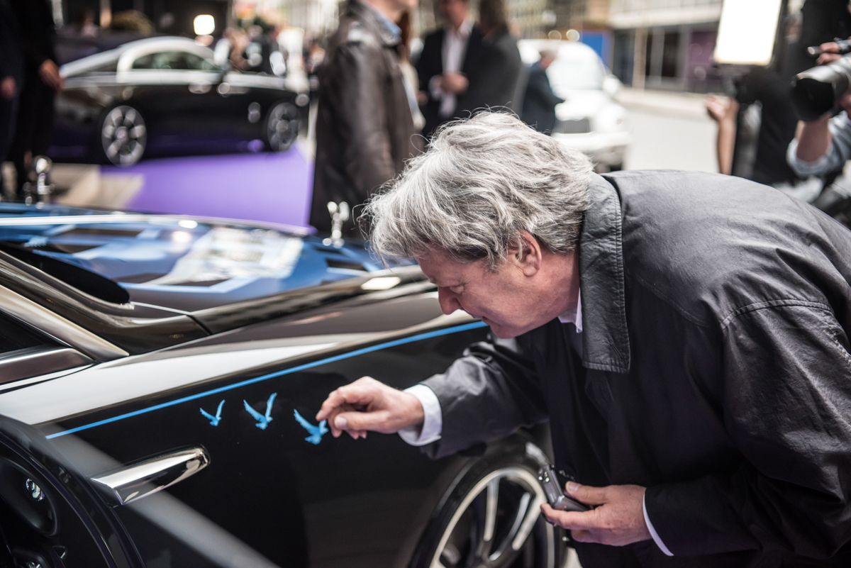 Rolls-Royce X British Music Legends for Bespoke Wraith Series 25