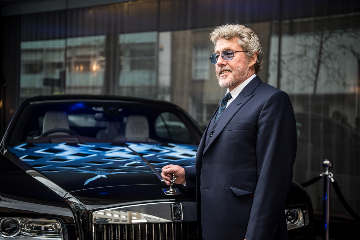 Rolls-Royce X British Music Legends for Bespoke Wraith Series 26