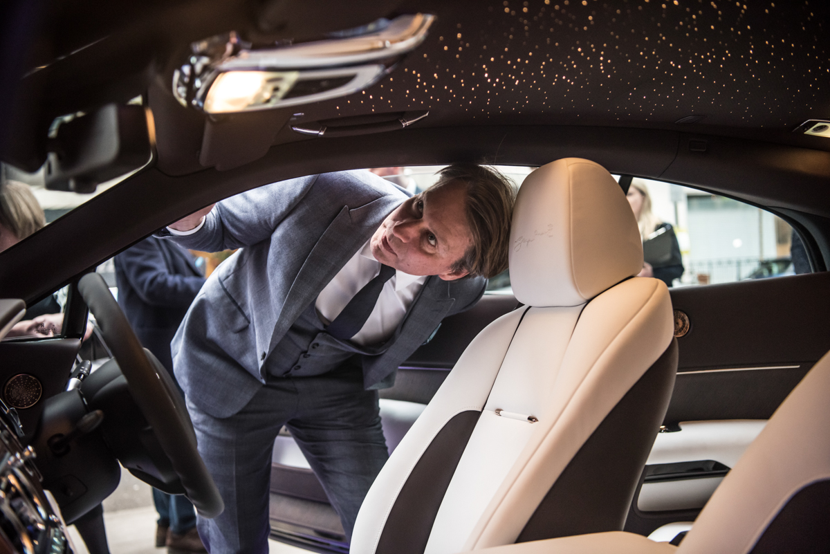Rolls-Royce X British Music Legends for Bespoke Wraith Series 27