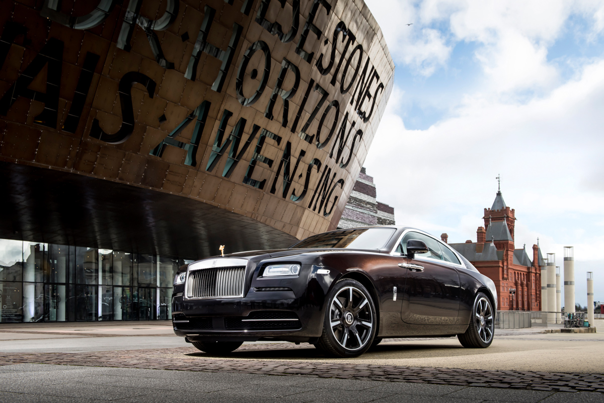 Rolls-Royce X British Music Legends for Bespoke Wraith Series 7