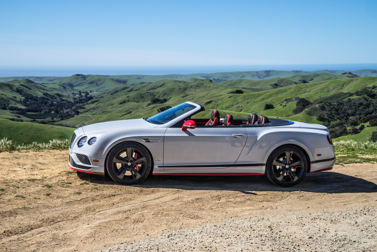 Epic Roadtrip from LA to San Francisco In a Bentley GT Speed Convertible 1