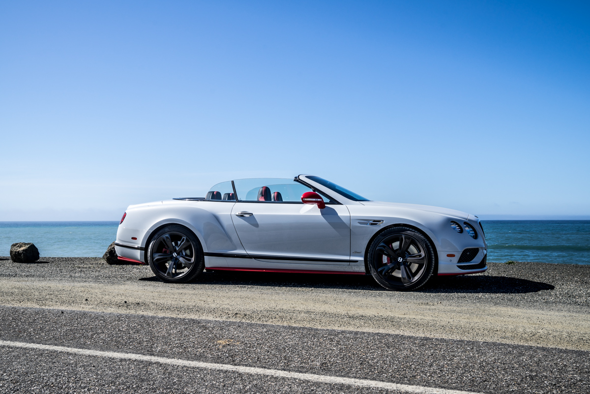 Epic Roadtrip from LA to San Francisco In a Bentley GT Speed Convertible 8