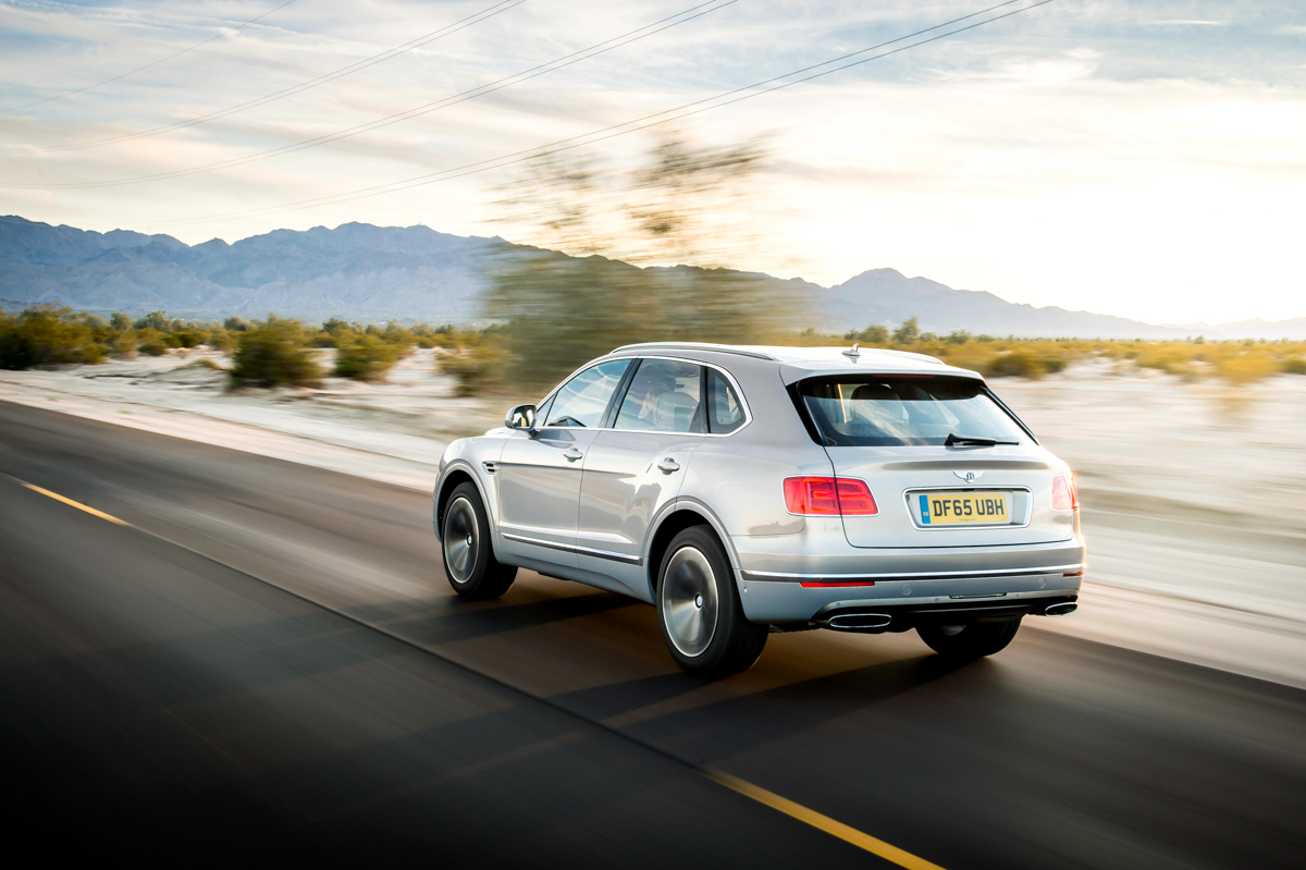 Life With The Fastest SUV. The Bentley Bentayga 11