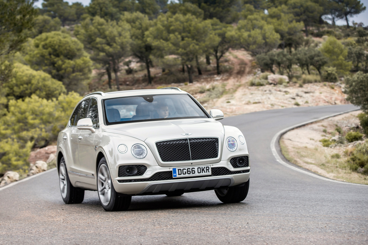 Life With The Fastest SUV. The Bentley Bentayga 10
