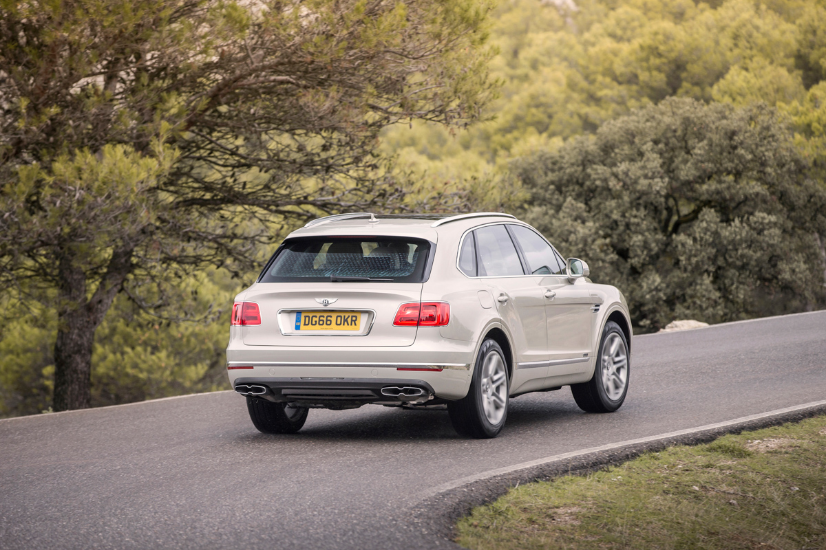 Life With The Fastest SUV. The Bentley Bentayga 9