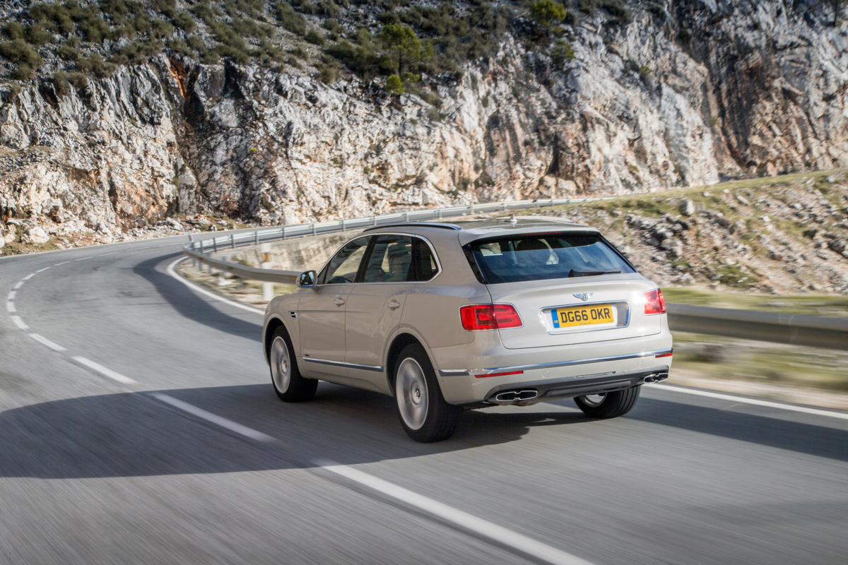 Life With The Fastest SUV. The Bentley Bentayga 5