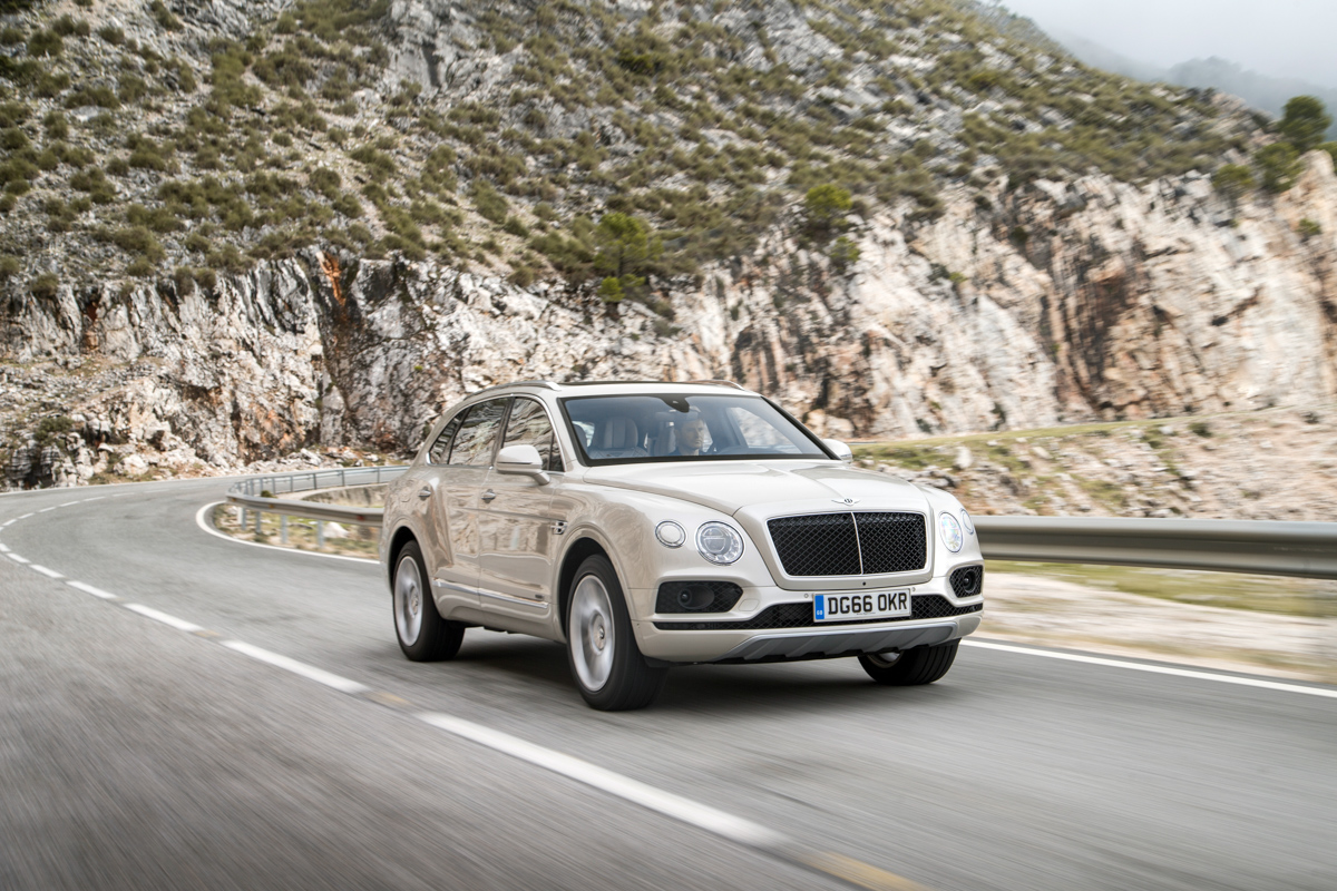 Life With The Fastest SUV. The Bentley Bentayga 1