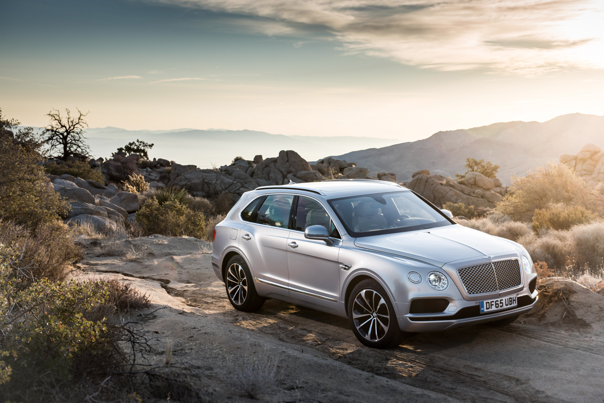 Life With The Fastest SUV. The Bentley Bentayga 15