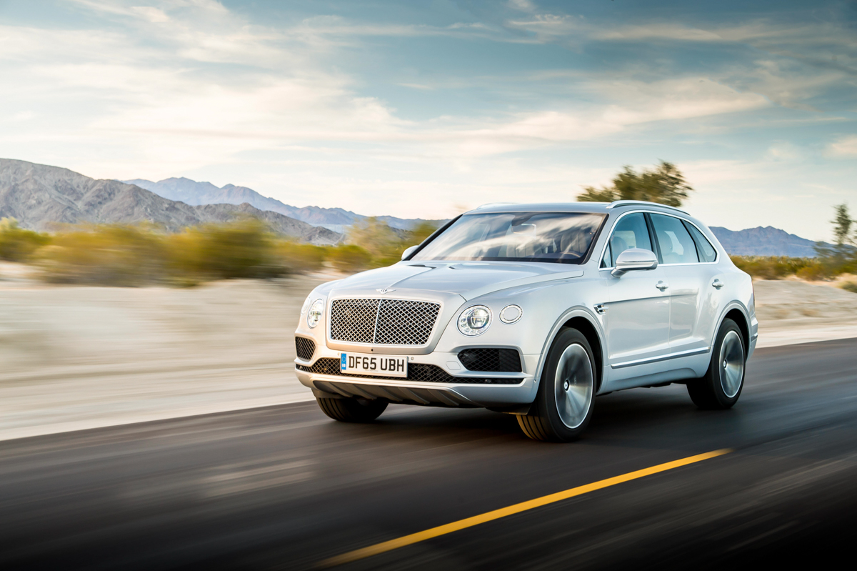 Life With The Fastest SUV. The Bentley Bentayga 18